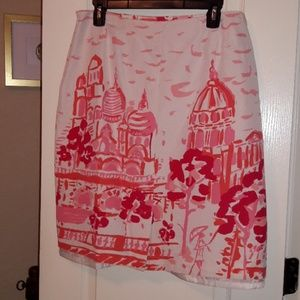 kemp and company Skirts - Pink French Style Mid-length Skirt